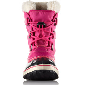 Sorel Yoot Pac Nylon Laarzen Kinderen roze/zwart
